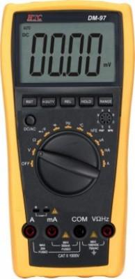 HTC DM97 Digital Multimeter(Yellow 4000 Counts)