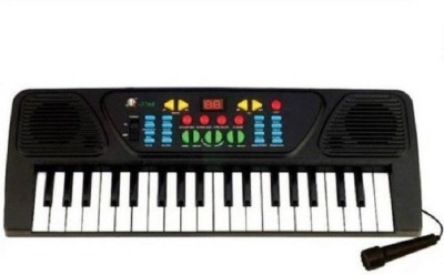 Prostuff Melody Electronic Musical Keyboard 37 Keys Piano With Mic (Black, White)(Multicolor)  available at flipkart for Rs.666