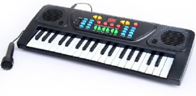 Dseal 37 Keys Musical Electronic Piano Keyboard(Black)  available at flipkart for Rs.666