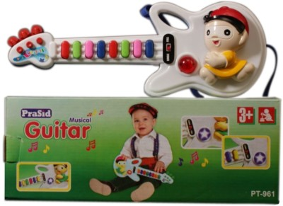 Prasid Mini Musical Guitar(Multicolor)