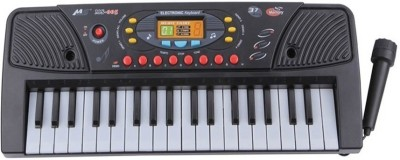 Darling Toys 37 Keys Electronic Melody Musical Keyboard Piano for Kids(Black)  available at flipkart for Rs.649
