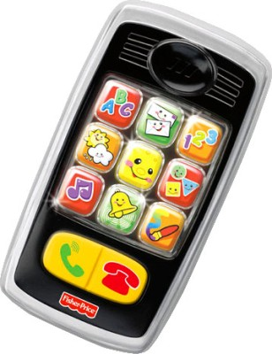 Fisher-Price Laugh & Learn - Smilin Smart Phone(Black)  available at flipkart for Rs.999