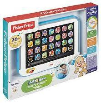 Fisher-Price Laugh and Learn Smart Stages Tablet Blue CHC74(Multicolor)  available at flipkart for Rs.1154