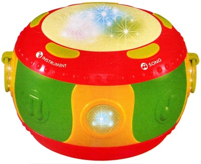Variety Gift Centre merry-go-round drum with lights, music and touch function improving children's ability to practice.(Multicolor)  available at flipkart for Rs.499