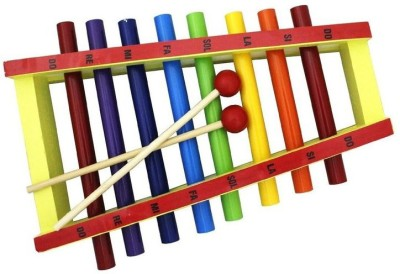 Shopaholic Steel Pipe Xylophone(Multicolor)