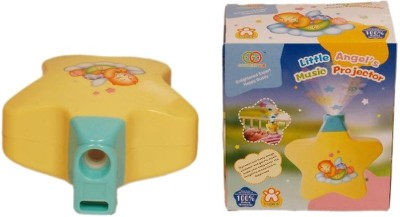 New Pinch Little Angels Baby Sleep Projector With Star Light