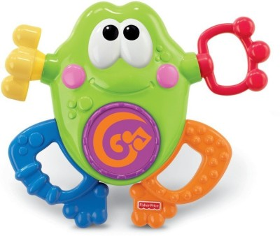 Fisher-Price Go Baby Go! Silly Sounds Frog(Multicolor)  available at flipkart for Rs.3129