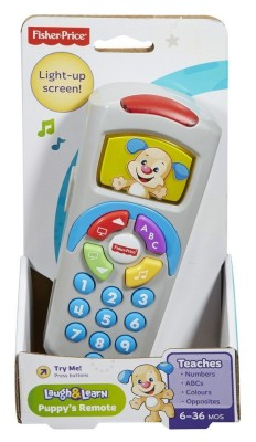 Fisher-Price Laugh and Learn PuppyS Remote(Multicolor)  available at flipkart for Rs.629