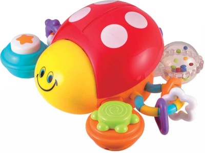 Winfun Press and Go Activity Ladybug(Multicolor)