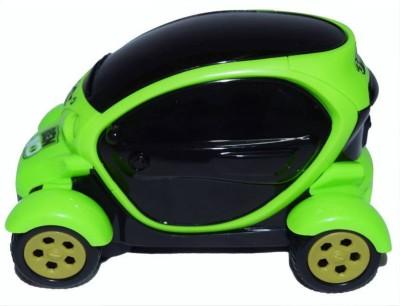 AR Enterprises Ben 10 3d Light Car (Green / Black)(Multicolor)