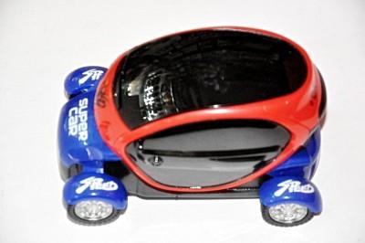 Ruppiee Shoppiee Super 3D Light Car(Red, Blue)