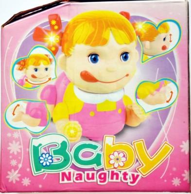 Ruppiee Shoppiee Baby Naughty Girl(Pink)