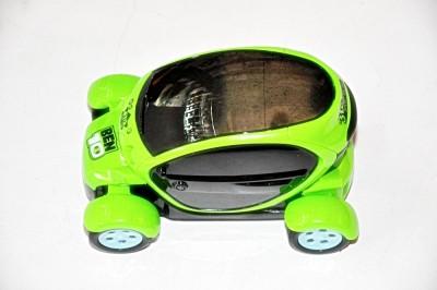 Ruppiee Shoppiee Ben 10 3D Light Car(Green)