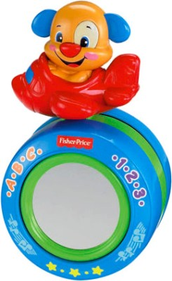 Fisher-Price Laugh & Learn Puppy's Crawl-along Musical Ball(Multicolor)  available at flipkart for Rs.1230