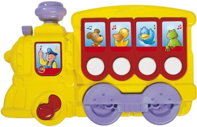 Simba ABC Musical Locomotive with Demo Melodies(Multicolor)