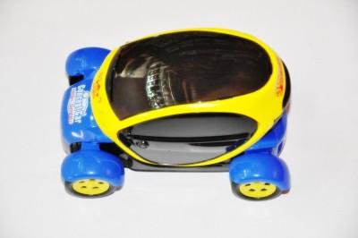 Ruppiee Shoppiee Chhota Bheem 3D Light Car(Yellow, Blue)