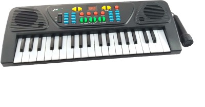 GPZ 37 Keys Musical Electronic Keyboard Piano With Mic - Melody Karaoke For Kids(Multicolor)  available at flipkart for Rs.699