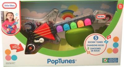 Little Tikes PopTunes-Lil Rocker Guitar(Multicolor)