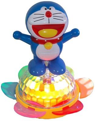 MK Enterprises Doraemon Dancing with 3Dlights & Music(Multicolor)
