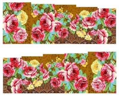 SENECIO™ Rose Flower Full Wraps Nail Art Manicure Decals Water Transfer Stickers 1 Sheet(Multicolor) Flipkart