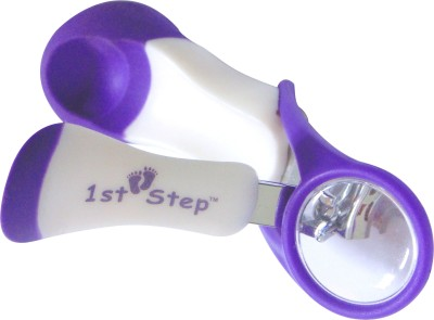 1st Step Purple Nail Clipper With Magnifying Glass  available at flipkart for Rs.199