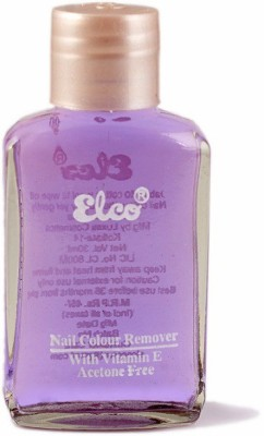 Elco Premium Nail Polish Remover(30 ml)  available at flipkart for Rs.45