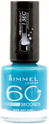 Rimmel London 60 seconds Nail Polish 825 Sky High(8 ml)  available at flipkart for Rs.549