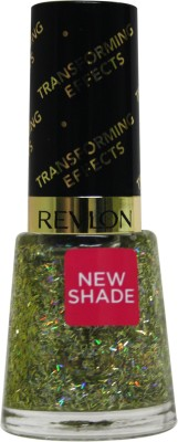 Revlon Transforming Effect Nail Enamel Top Coat Golden Confetti Golden Confetti