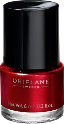 Oriflame Sweden Pure Colour Nail Polish Mini Classic Red Classic Red(6 ml)  available at flipkart for Rs.139