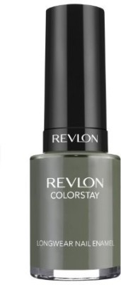 Revlon Colorstay Nail Enamel, Spanish Moss Dark Flipkart