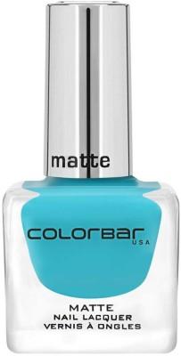 Colorbar Matte Nail Lacquer New Green Haze, 12 ml