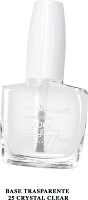Maybelline New York Nail Polish, 25 Crystal Clear, 10ml
