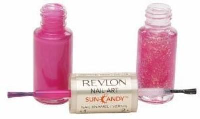 Revlon Nail Art Sun Candy Nail Enamel, Shimmering Sunset/410 Clear Flipkart