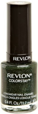 Revlon Colorstay Nail Enamel, Rain Forest Clear Flipkart
