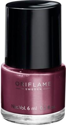 Oriflame Sweden Pure Colour Nail Polish Mini Mauve Mirage Mauve Mirage(6 ml)  available at flipkart for Rs.143