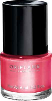 Oriflame Sweden Pure Colour Nail Polish Mini Pink Crush Pink Crush(6 ml)  available at flipkart for Rs.141