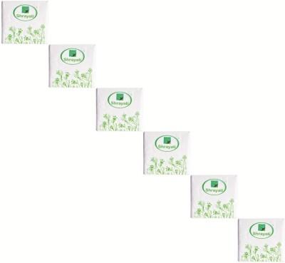 Shrayati Daily Usage White Napkins(6 Sheets)