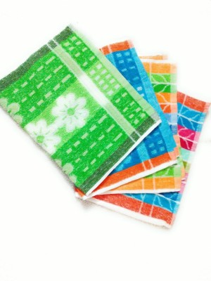 Cotton Colors Floral Design Napkin Multicolor Napkins(4 Sheets) at flipkart