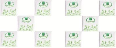 Shrayati Shrayati Breakfast Paper Napkins White Napkins(10 Sheets)