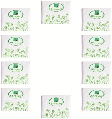 Shrayati Shrayati Cocktail Dinner Paper Napkins White Napkins(10 Sheets)