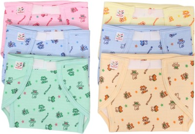 Vadmans Vadmans Tinycare Outside Cloth Inside Plastic Nappy Vadmans Nappy