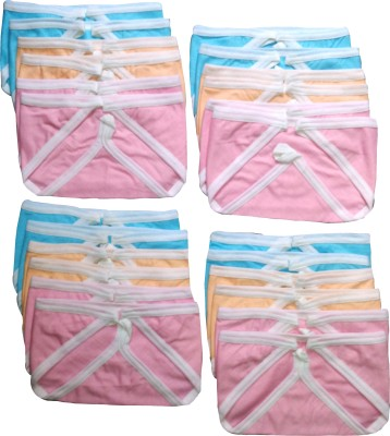 Chinmay Kids REUSABLE SOFT COTTON HOSIERY NAPPIES COMBO OF 24'S Chinmay Kids Nappy