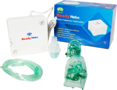 MEHAR READY NEBO PISTON COMPRESSOR Nebulizer(White)  available at flipkart for Rs.1599