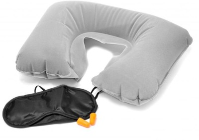 Fancy Steps Three Tourists Treasures Neck Pillow(Dim Grey)  available at flipkart for Rs.199