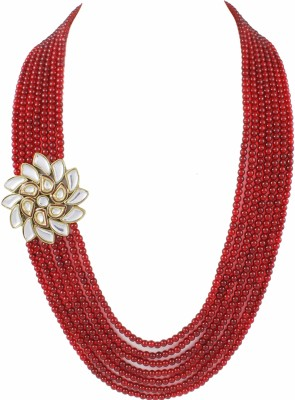 Karatcart Brass Plated Brass Necklace at flipkart
