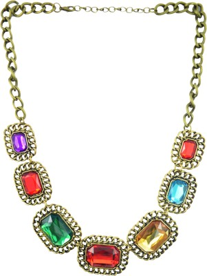 Diovanni Metal, Alloy, Zinc Necklace at flipkart
