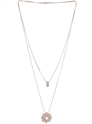 Diana Korr Silver Plated Alloy Necklace at flipkart