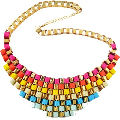 Diovanni Metal, Alloy, Enamel Necklace at flipkart