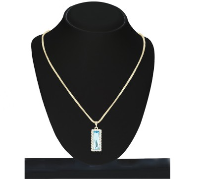 Savvy Brass Necklace at flipkart