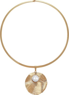 Abozzo Metal Necklace at flipkart